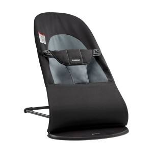 Baby Bjorn Balance Bouncer Soft in Black & Dark Grey