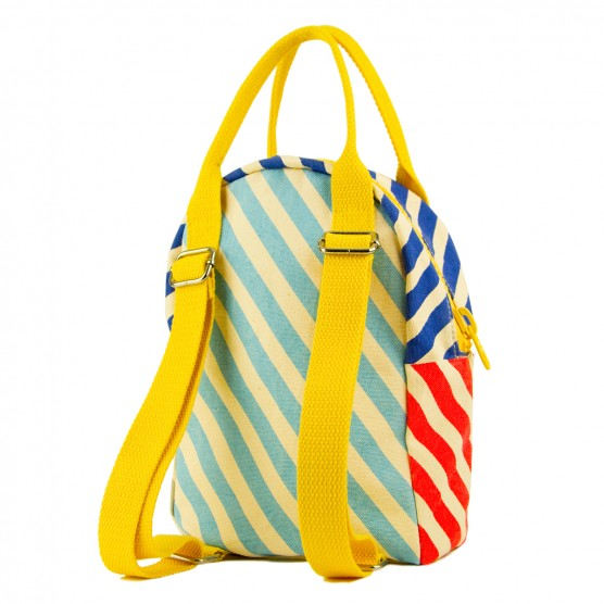 Fluf Backpack - blue stripe