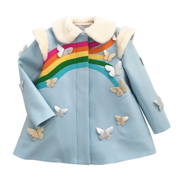 LittleGoodallRainbowCoat1