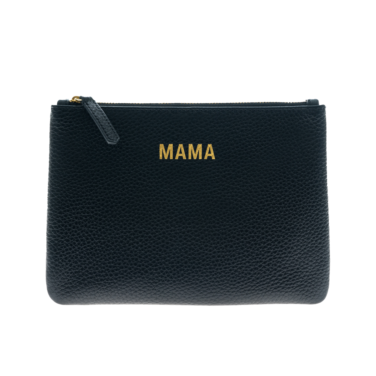 Jem + Bea Mama Leather Clutch