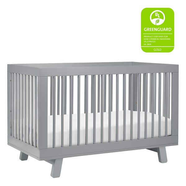 Babyletto Hudson 3-in1 Grey AW-in1GreyM4201G7AW