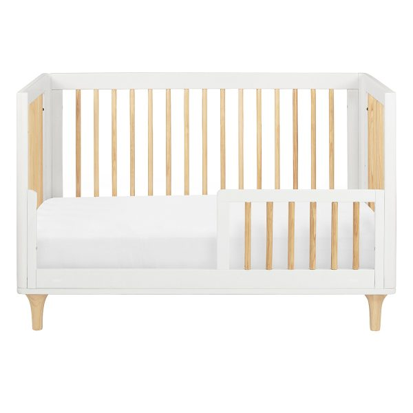 Babyletto Lolly Convertible Crib Natural and White AW19
