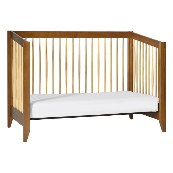 Babyletto Sprout Convertible Crib + Toddler Bed Chestnut and Natural AW19+ToddlerBedChestnut&NaturalM103014AW19