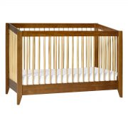 Babyletto Sprout Convertible Crib + Toddler Bed Chestnut and Natural AW19+ToddlerBedChestnut&NaturalM103017AW19