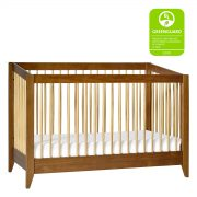 Babyletto Sprout Convertible Crib + Toddler Bed Chestnut and Natural AW19+ToddlerBedChestnut&NaturalM103018AW19