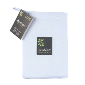 Kushies Crib Sheet Blue