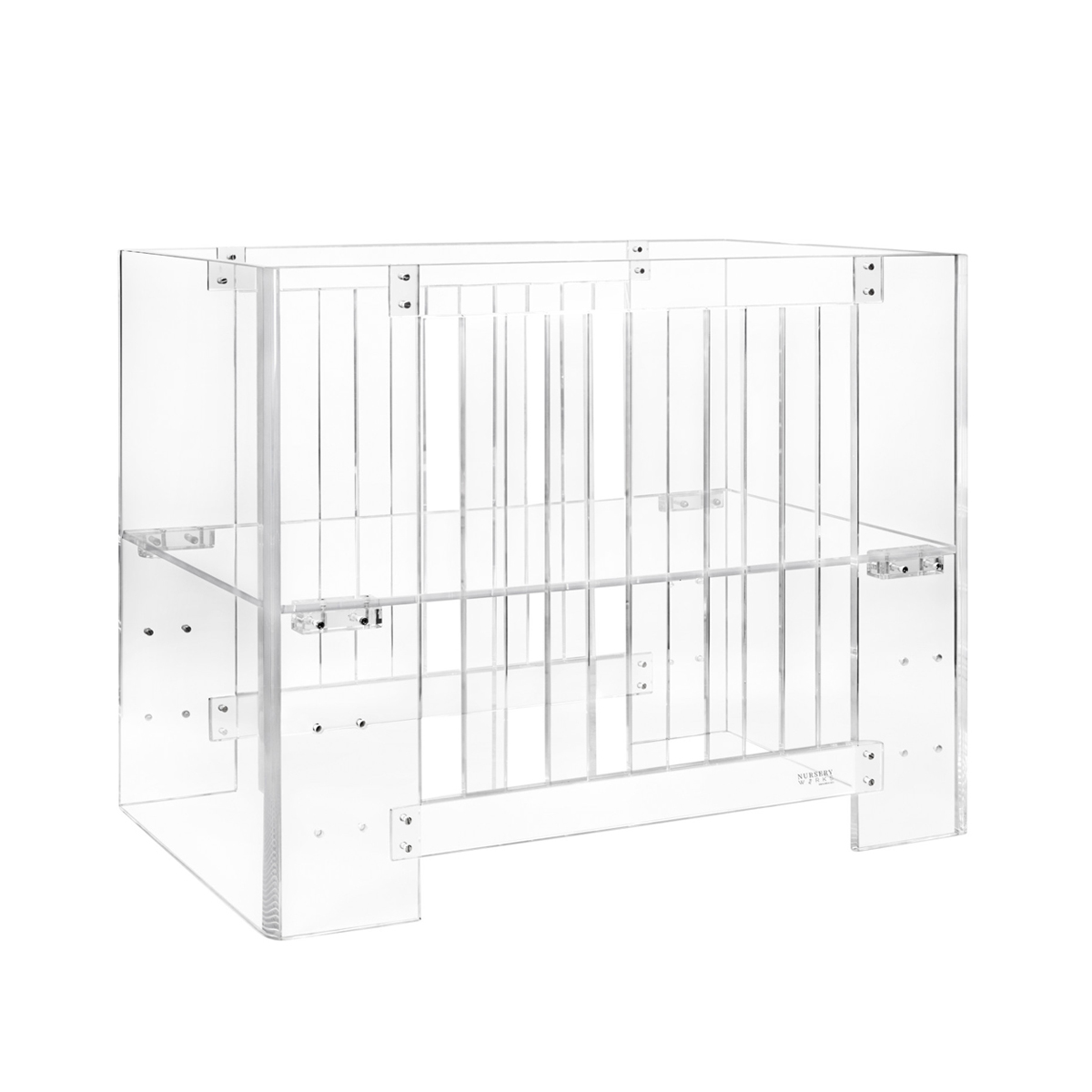 Nursery Works Vetro Mini Crib Thetot