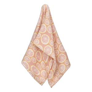 Milkbarn Organic Swaddle in Grapefruit