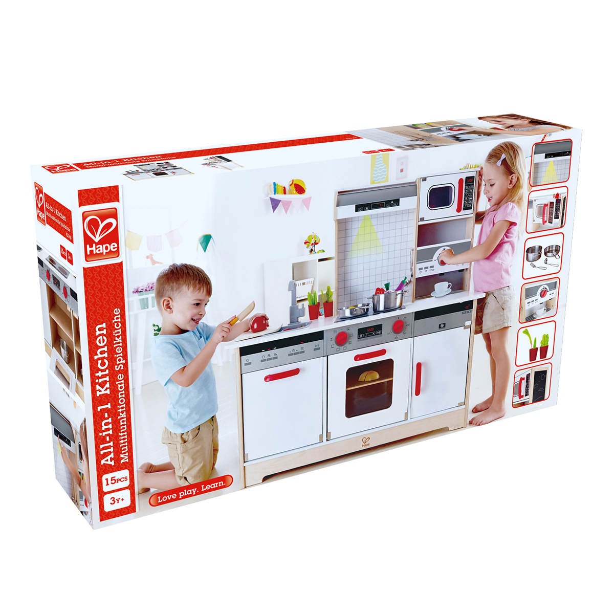Hape All-in-1 Kitchen - TheTot