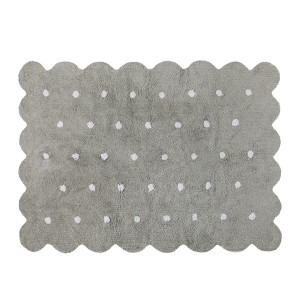 Lorena canals non-toxic and machine washable biscuit rug