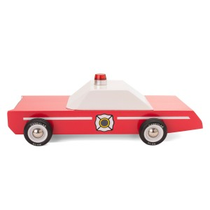 Candy Lab Fire Chief Toy Car