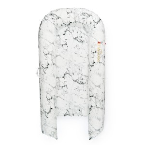 DockATot Grand Cover in Carrara Marble Print