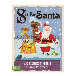 Tiny Bee Gift Co S is for Santa Book