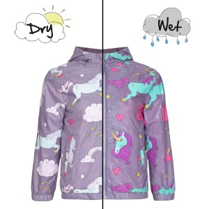 Holly & Beau Color Changing Raincoat