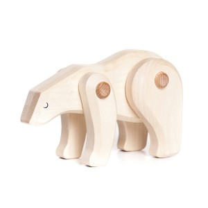 Tobe Wooden Polar Bear