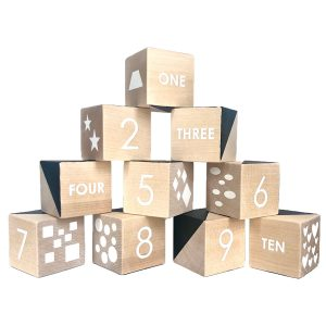 Modern Blocks Counting Numbers Set