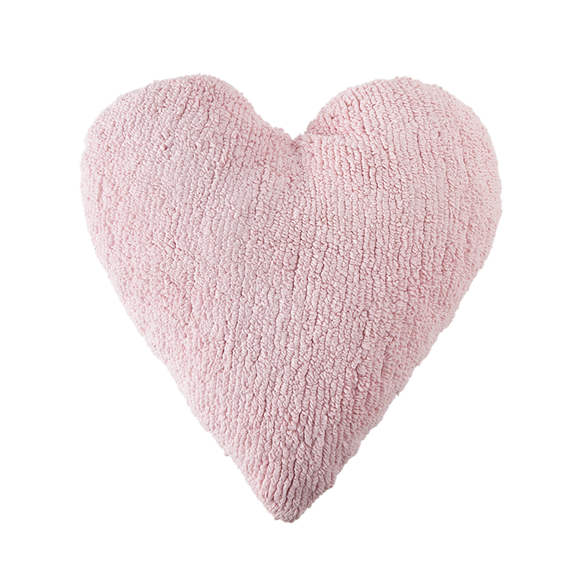 Lorena Canals Cushion Heart Pink