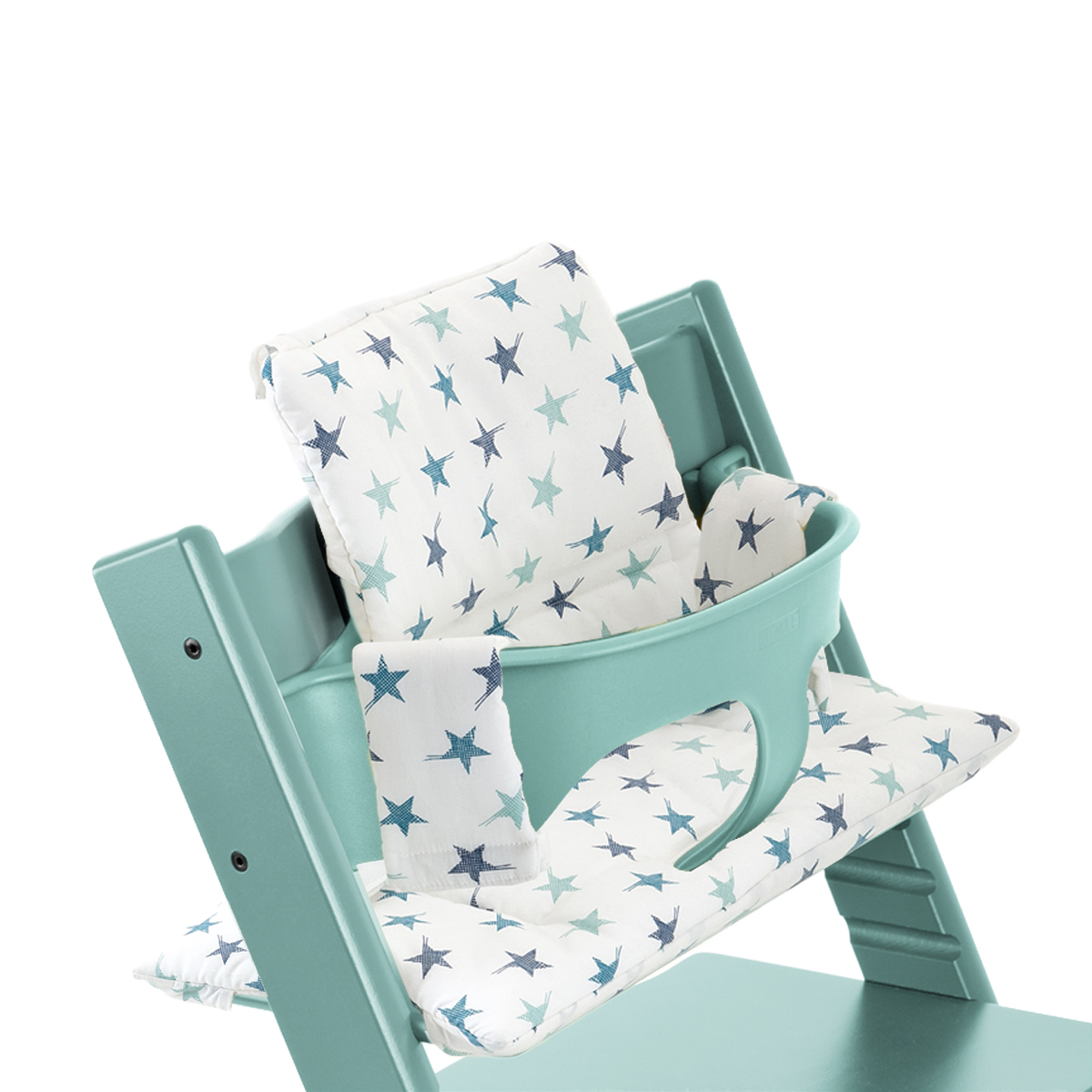 stokke tripp trapp aqua blue thetot. Black Bedroom Furniture Sets. Home Design Ideas
