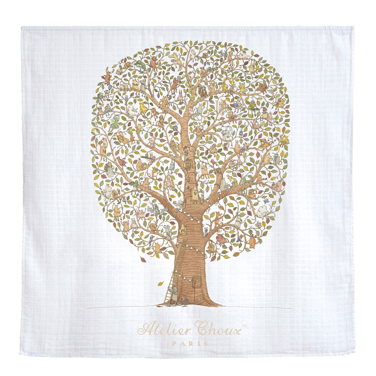 Friends Family Tree: Atelier Choux GOTS Certified Organic Swaddle