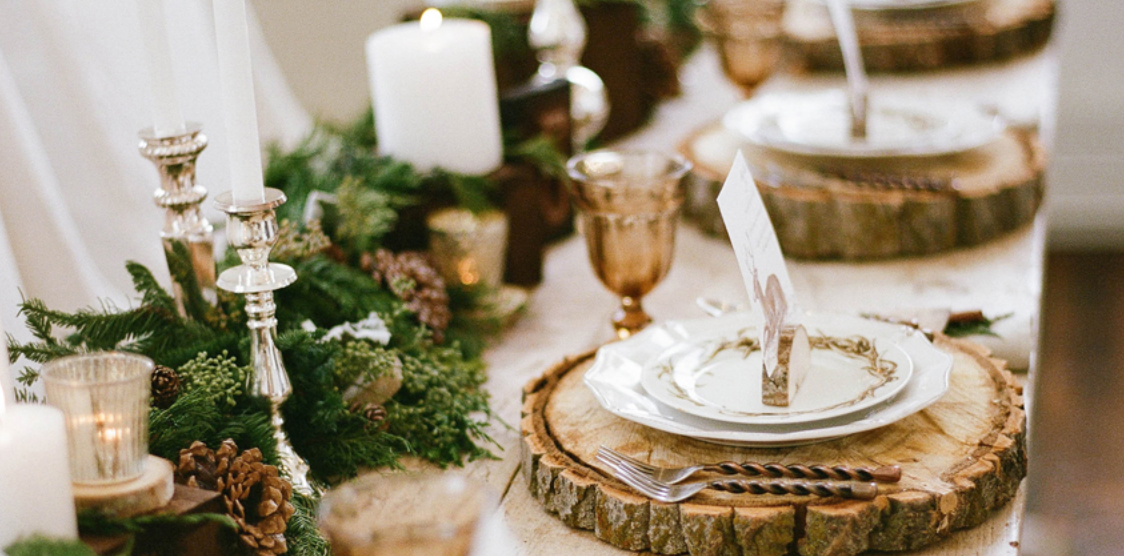 Christmas-tablesetting