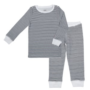 12 12 black and white striped pajama