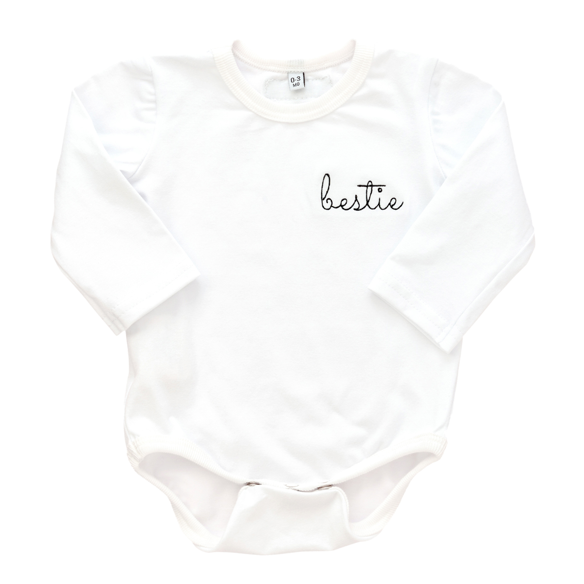 Early Riser Long Sleeve Bestie Onesie