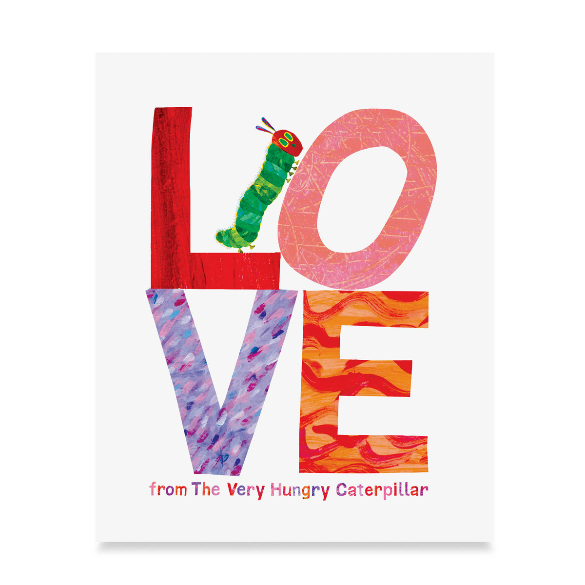 Love from the very hungry caterpillar book