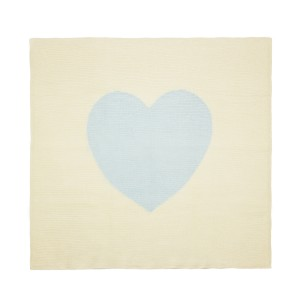 Estella Blue Heart Be Mine Blanket