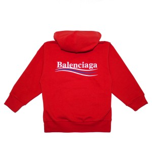 BalenciagaSS18HoodieRed2