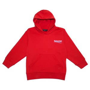 BalenciagaSS18HoodieRed1