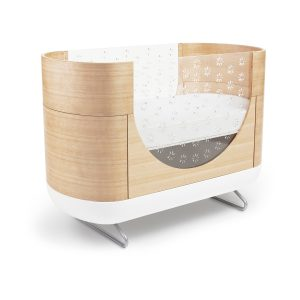 ubabub Pod 2-in-1 Crib with Toddler Bed Conversion Kit