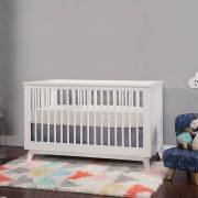 Scoot 3-in-1 Convertible Crib White AW19