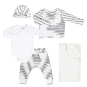 Mori Outfit and swaddle gift set