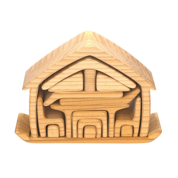 WoodenWagonAllInOneDollHouseNatural2