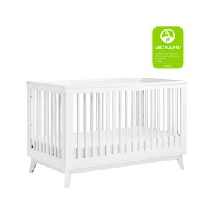 Babyletto Scoot Crib in White
