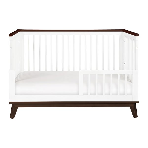 Scoot 3-in-1 Convertible Crib With Toddler Bed Conversion Kit