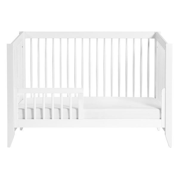 BabylettoSprout4-in-Babyletto Sprout 4-in-1 Convertible Crib with Toddler Bed Conversion Kit White AW19