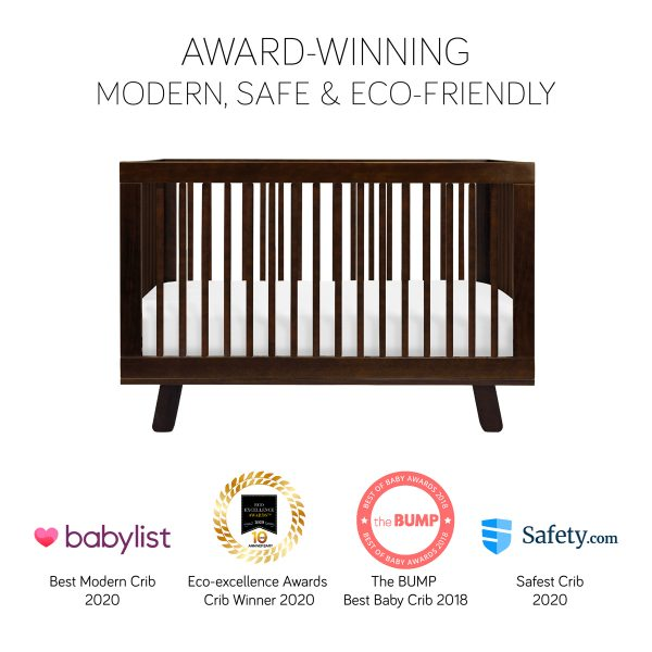 Hudson 3-in-1 Convertible Crib in Espresso 1