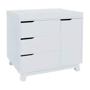 Hudson 3-in-1 Drawer Changer Dresser White AW19