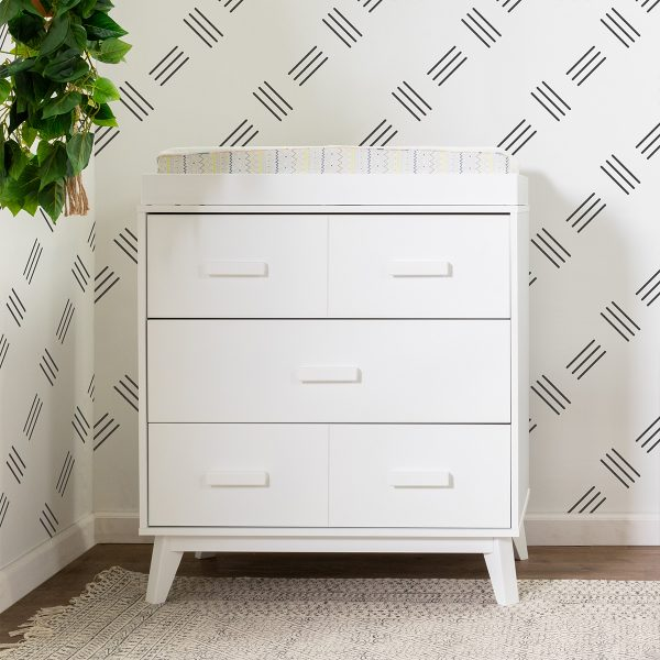Babyletto Scoot Three Drawer Dresser with Removable Changing Tray3