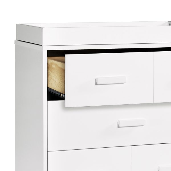 Babyletto Scoot Three Drawer Dresser with Removable Changing Tray5