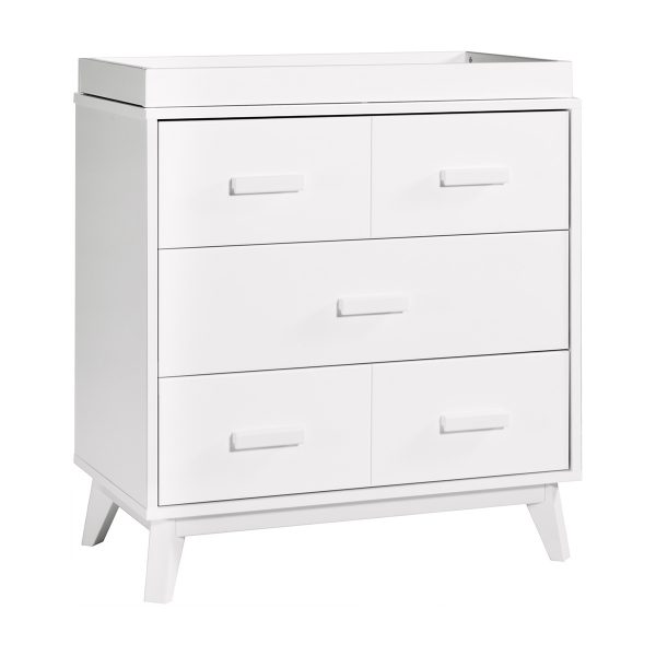 Babyletto Scoot Three Drawer Dresser with Removable Changing Tray7