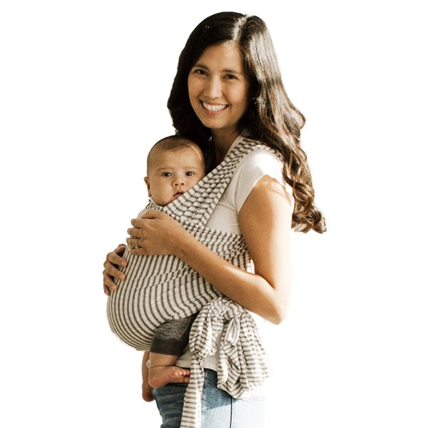82bc2728621 Solly Baby New Standard Wrap Carrier - Natural   Grey Stripe - TheTot
