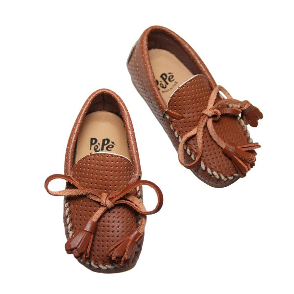 classic fit db3be b0220 Pepe Shoes Moccasins - TheTot