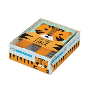 Wee Gallery First Soft Book - Tip Toe Tiger