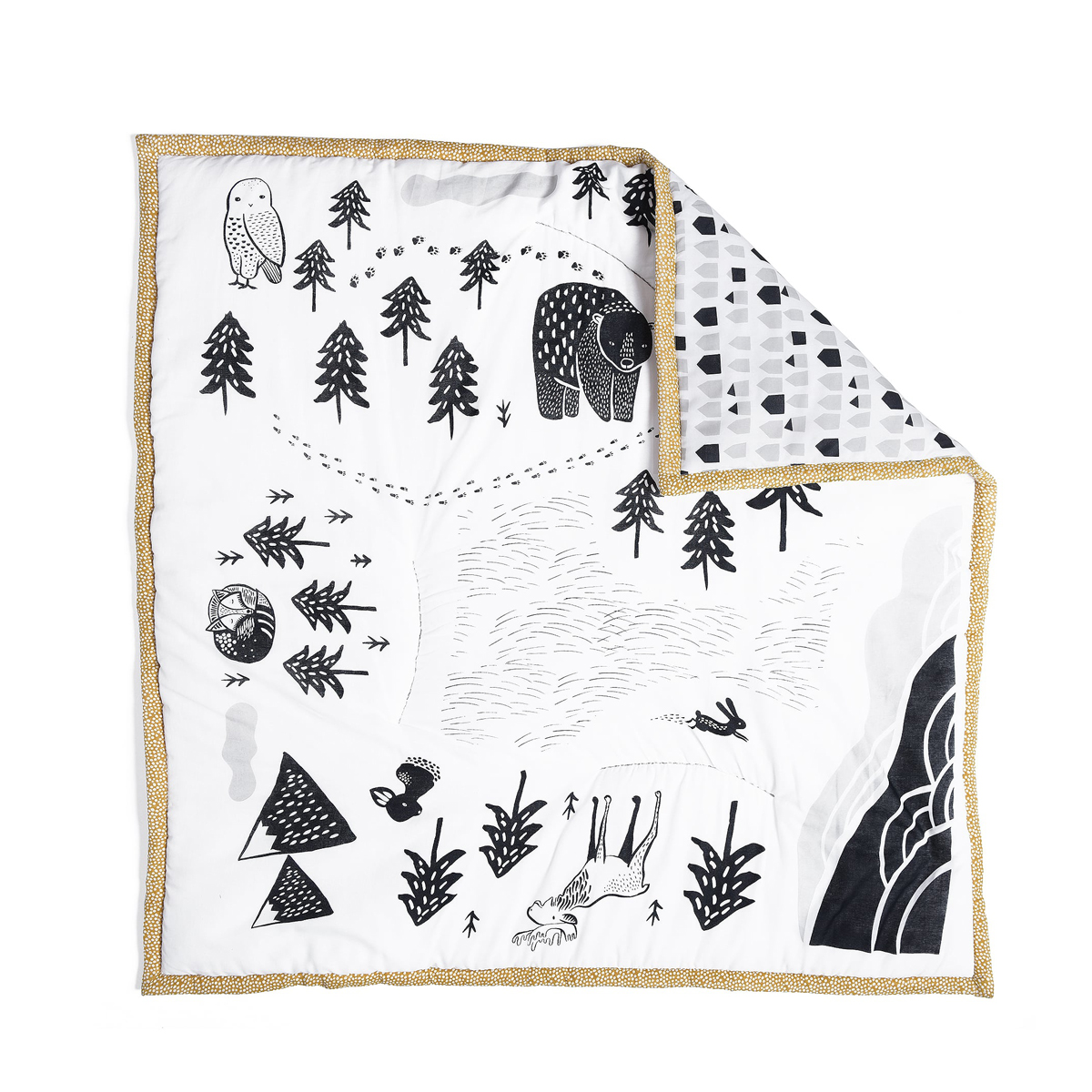 Wee Gallery Explore Organic Play Mat