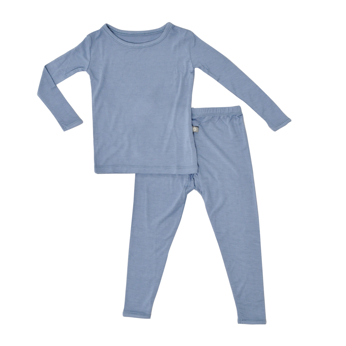 Kyte Baby Bamboo Toddler Pajama Set in Slate