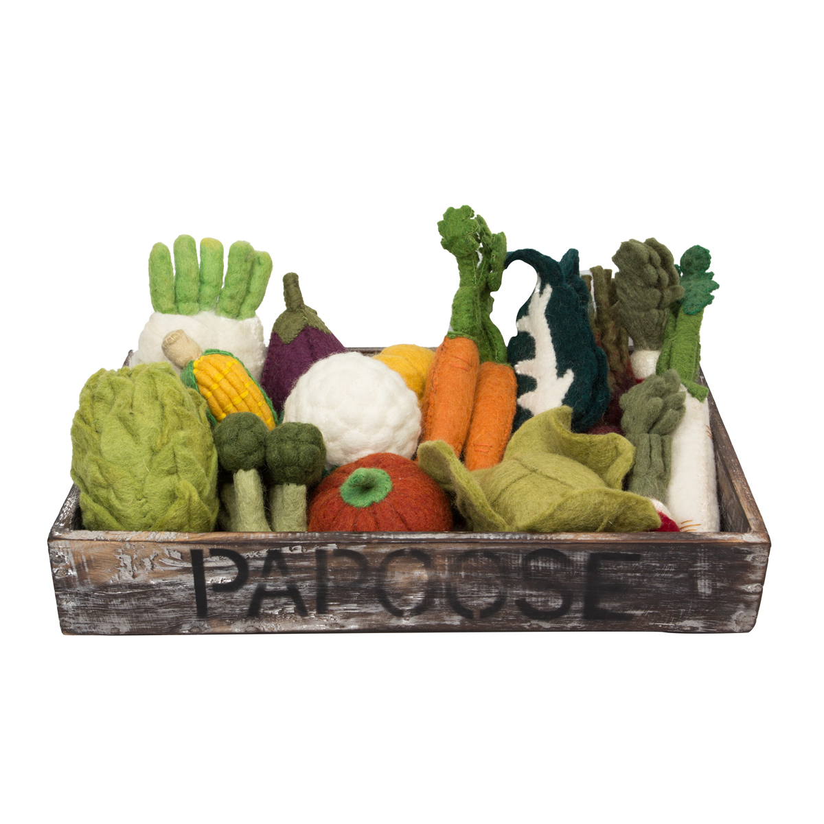 Papoose Vegetable Tray