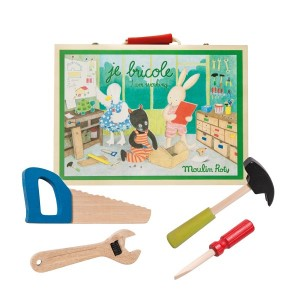 Moulin Roty Wooden Toy Set