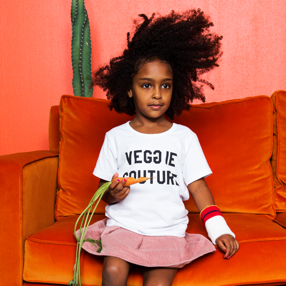 Gardner and the Gang Veggie Couture T-Shirt